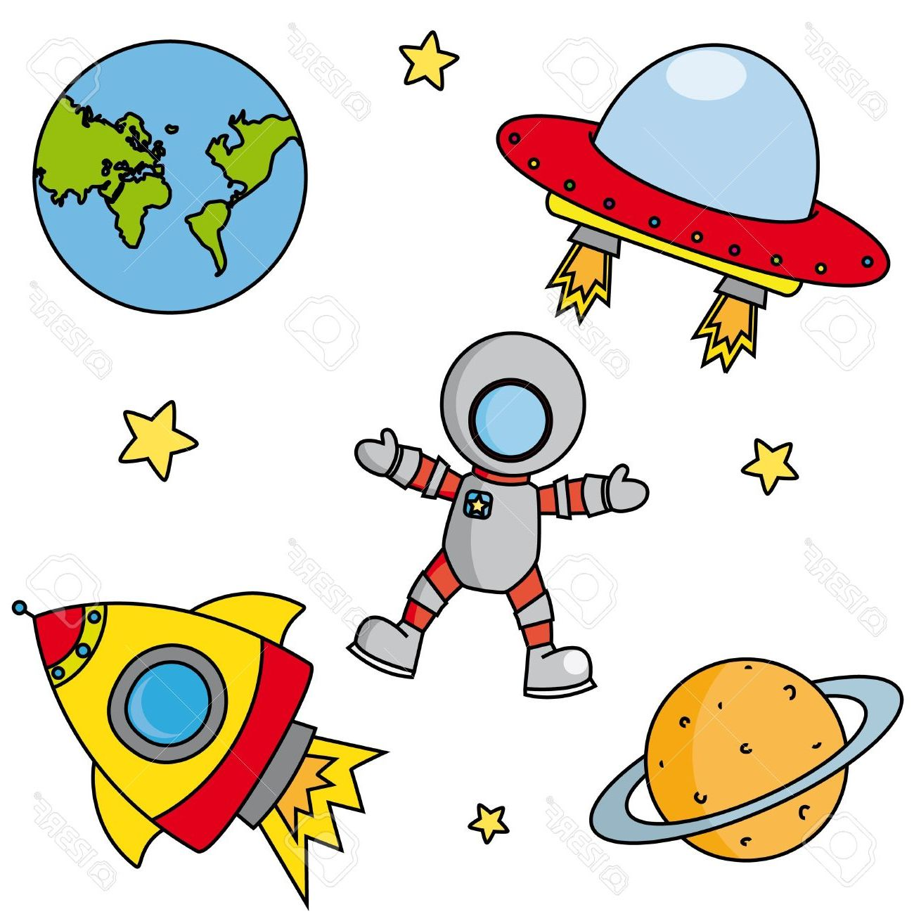 1300x1300 Astronomy Clipart