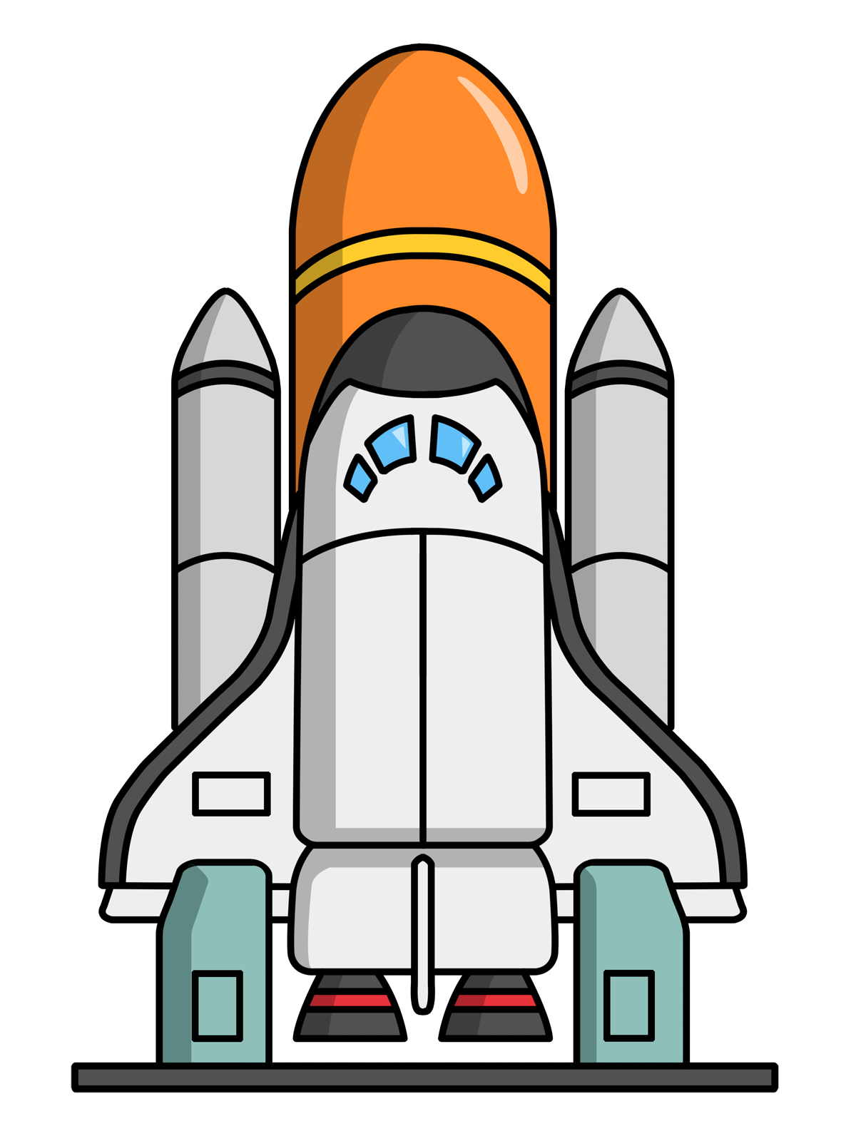 1200x1600 Space Shuttle Clip Art Amp Look At Space Shuttle Clip Art Clip Art