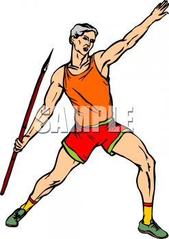 247x350 Athlete Throwing The Javelin