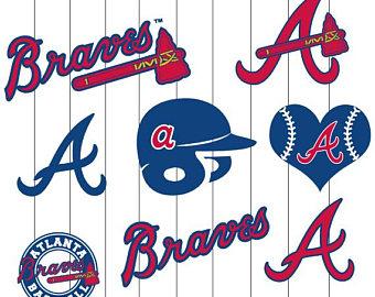 340x270 Atlanta Braves Svg Etsy