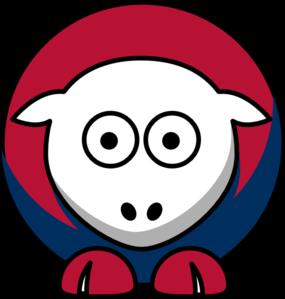 285x299 Sheep Atlanta Braves Team Colors Clip Art