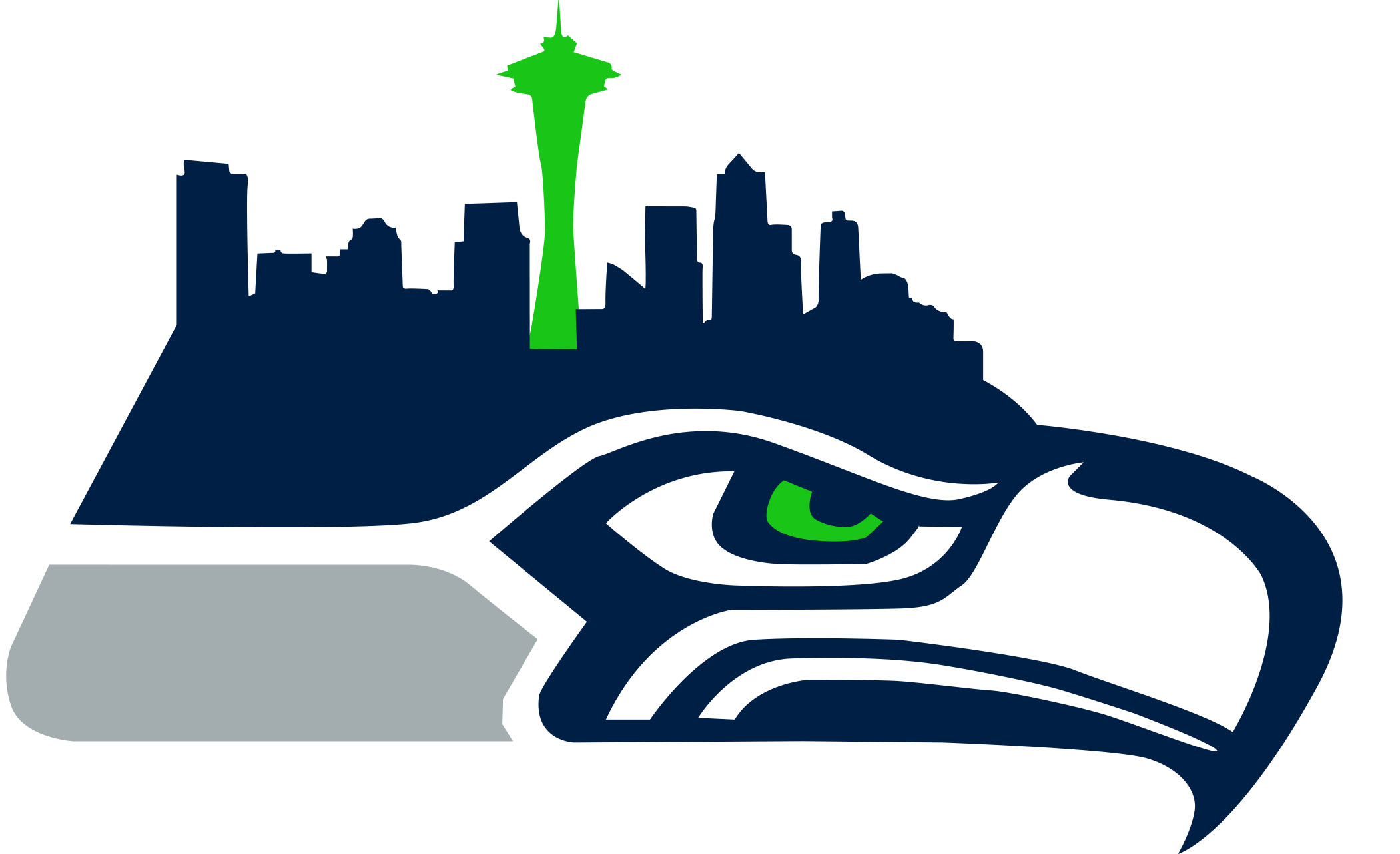 2102x1283 Collection Of Seahawks Clipart High Quality, Free Cliparts