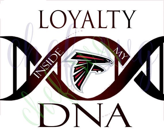 570x456 Atlanta Falcons Loyalty In My Dna Svg Quote, Quote Overlay, Svg