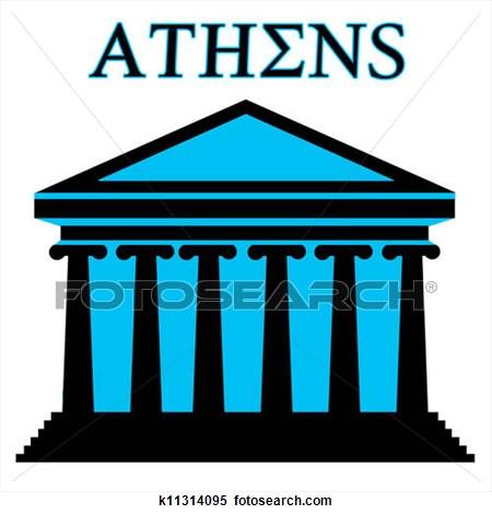 450x470 Athens Clipart