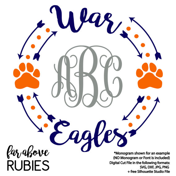570x570 War Eagle Clip Art Auburn War Eagle Clipart 1