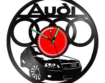 340x270 Audi Clock Etsy