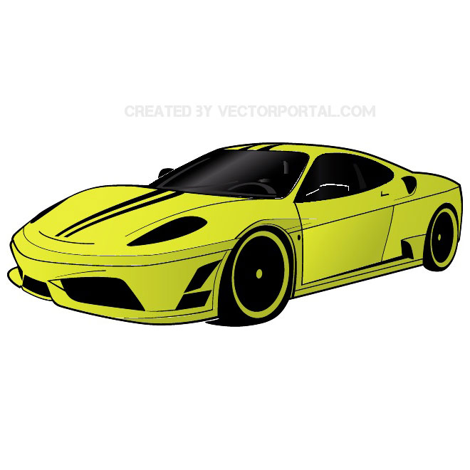 660x660 Red Audi R8 Free Vector 123freevectors