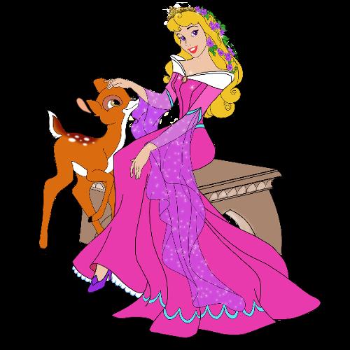 500x500 Princess Aurora Disney Clipart