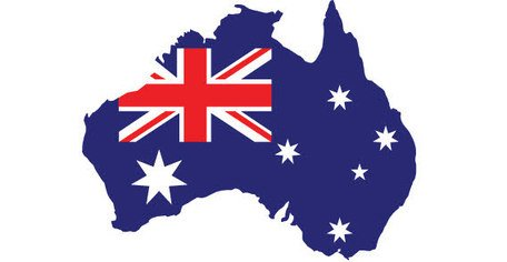 456x236 Free Stylized Map Of Australia Clipart And Vector Graphics