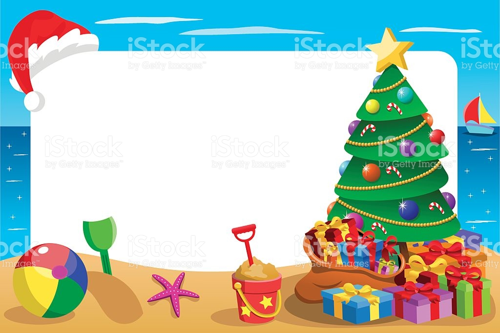 1024x682 Collection Of Australian Beach Christmas Clipart High