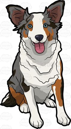 236x431 Australian Cattle Dog Clipart Australian Shepherd