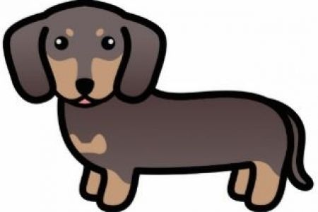 450x300 Wiener Dog Cartoon Image Group