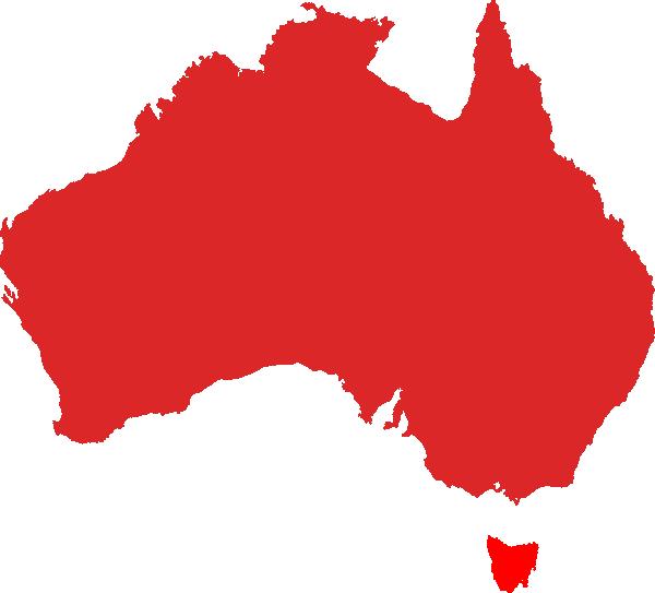 600x543 Australia Clipart Australia Map Clipart