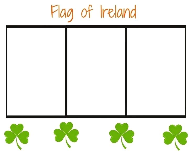 736x588 Ireland Flag Coloring Page Flag Of Coloring Page Printable Irish