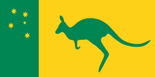 500x250 Launching Australian Flag Colors 16802 Sporturka Australian Flag
