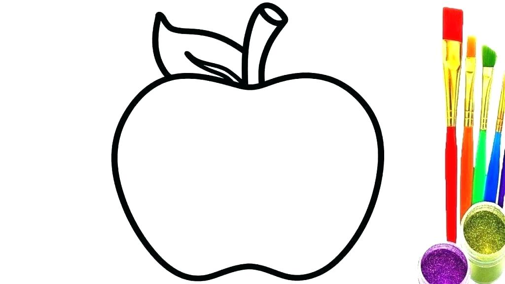 1024x576 Apples Coloring Page Coloring Pages Of Apples Apples Coloring