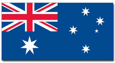 400x220 Australian Flag Colors Colouring To Tiny Australia Map Universal