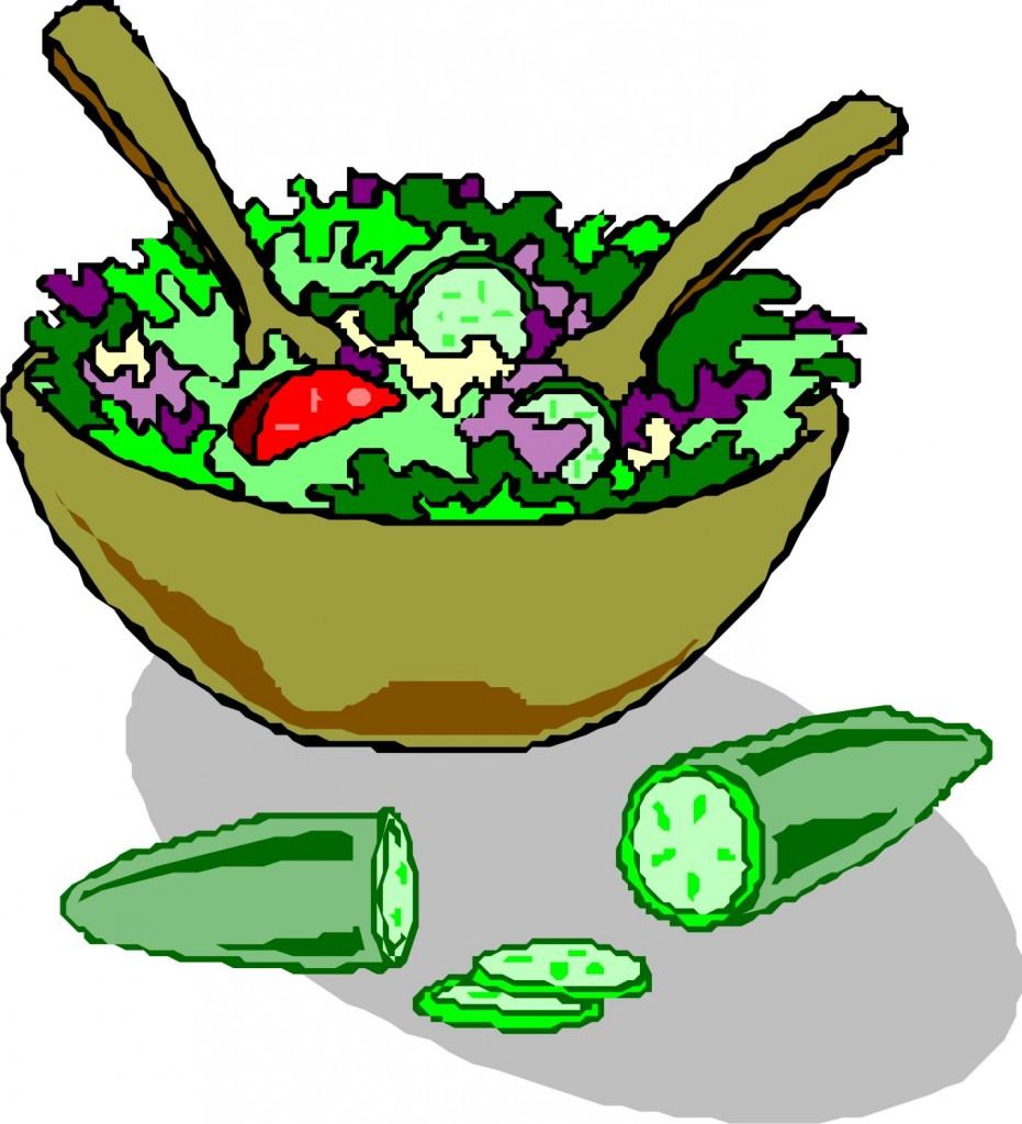 931x1024 Salad Buffet Clipart