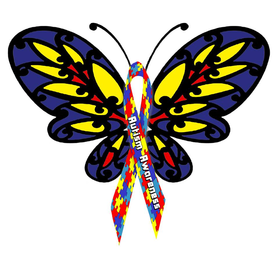 960x902 Butterfly Clipart Autism