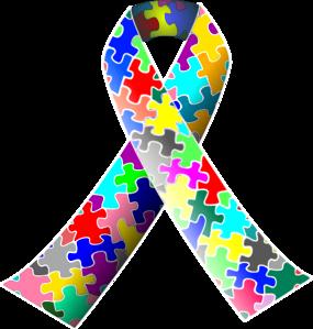285x299 Autism Ribbon Clip Art