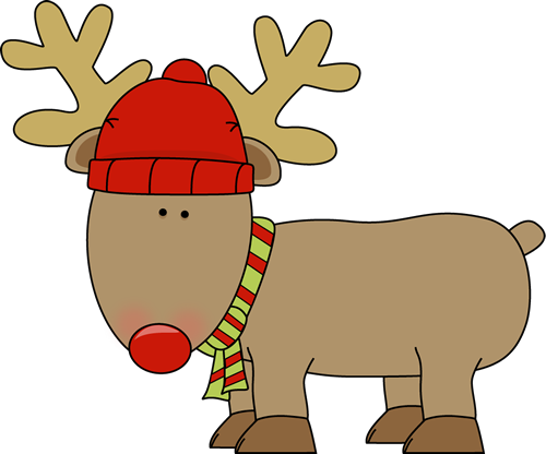 500x416 Holiday Clipart Raindeer