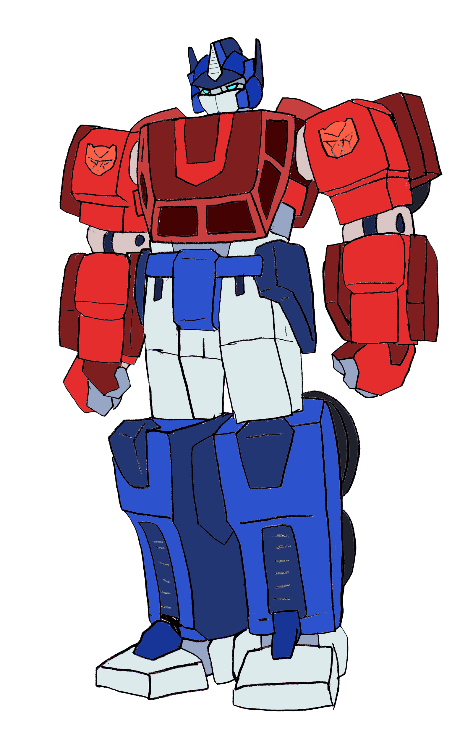 1600x2538 Optimus Prime In The 40s Robot Mode By Nickonplanetripple