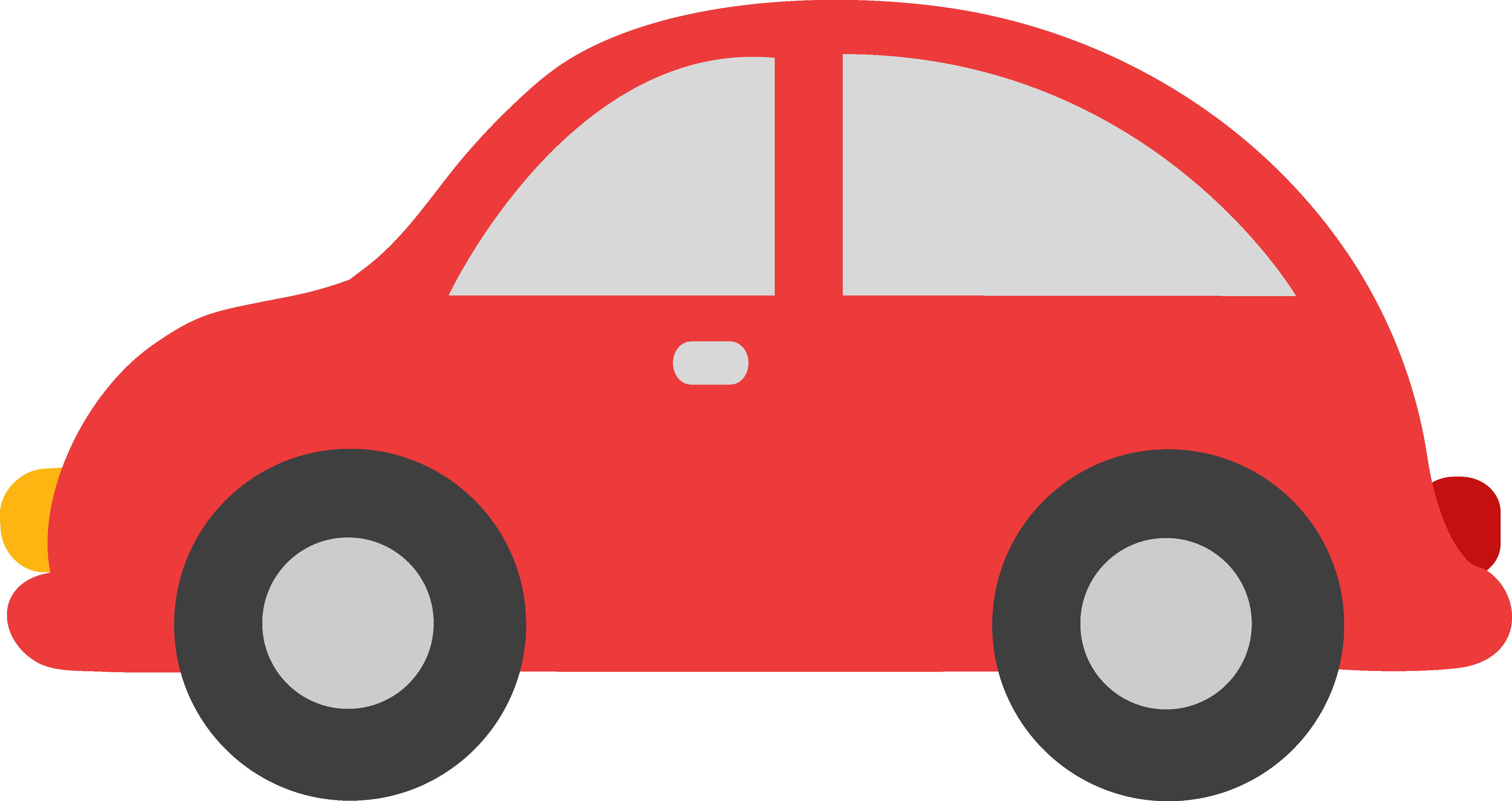 4916x2605 Red Toy Car Clipart