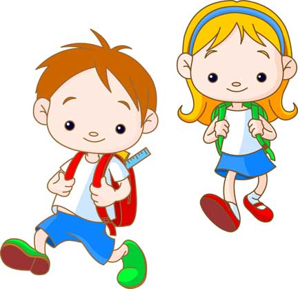 432x420 Animated Clipart Kids