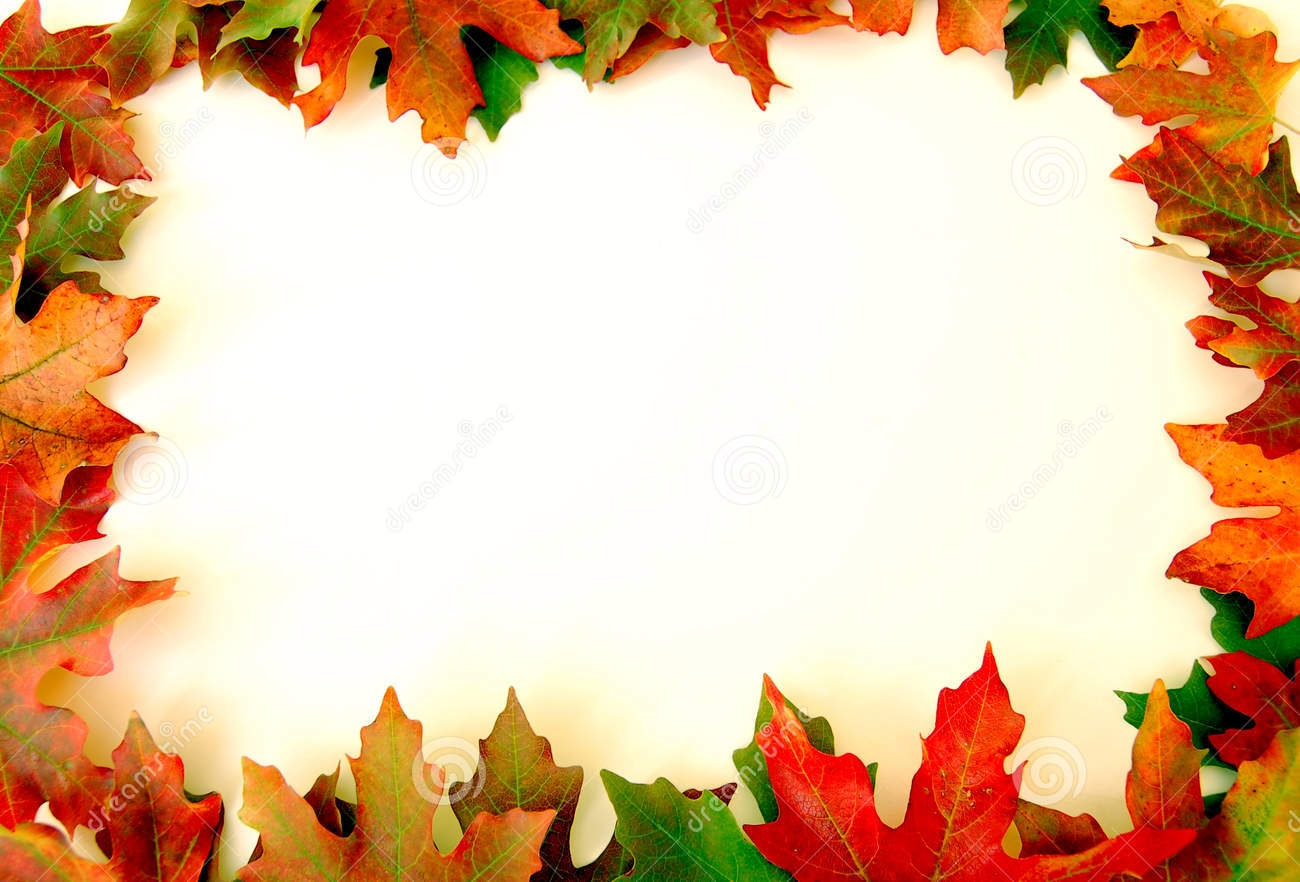 1300x882 Autumn Borders Clip Art Free