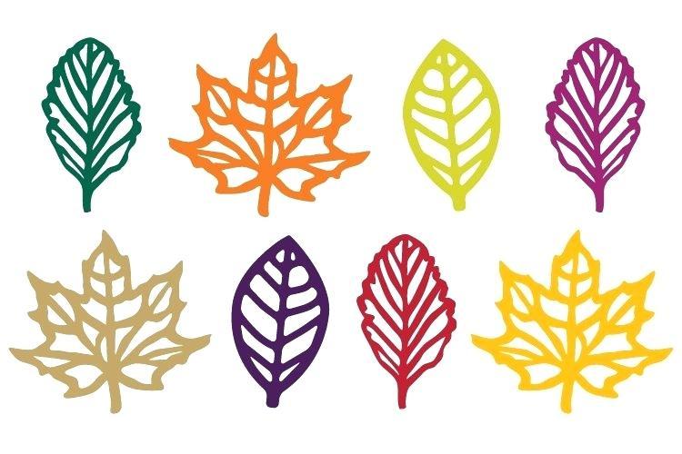 750x500 Fall Foliage Clip Art Fall Leaves Clip Art Black And White 5