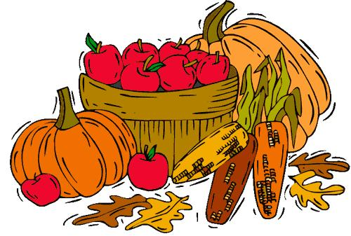 500x337 Fall Harvest Celebration Clipart