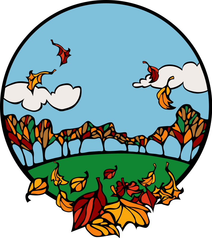 715x800 Fall And Autumn Clipart