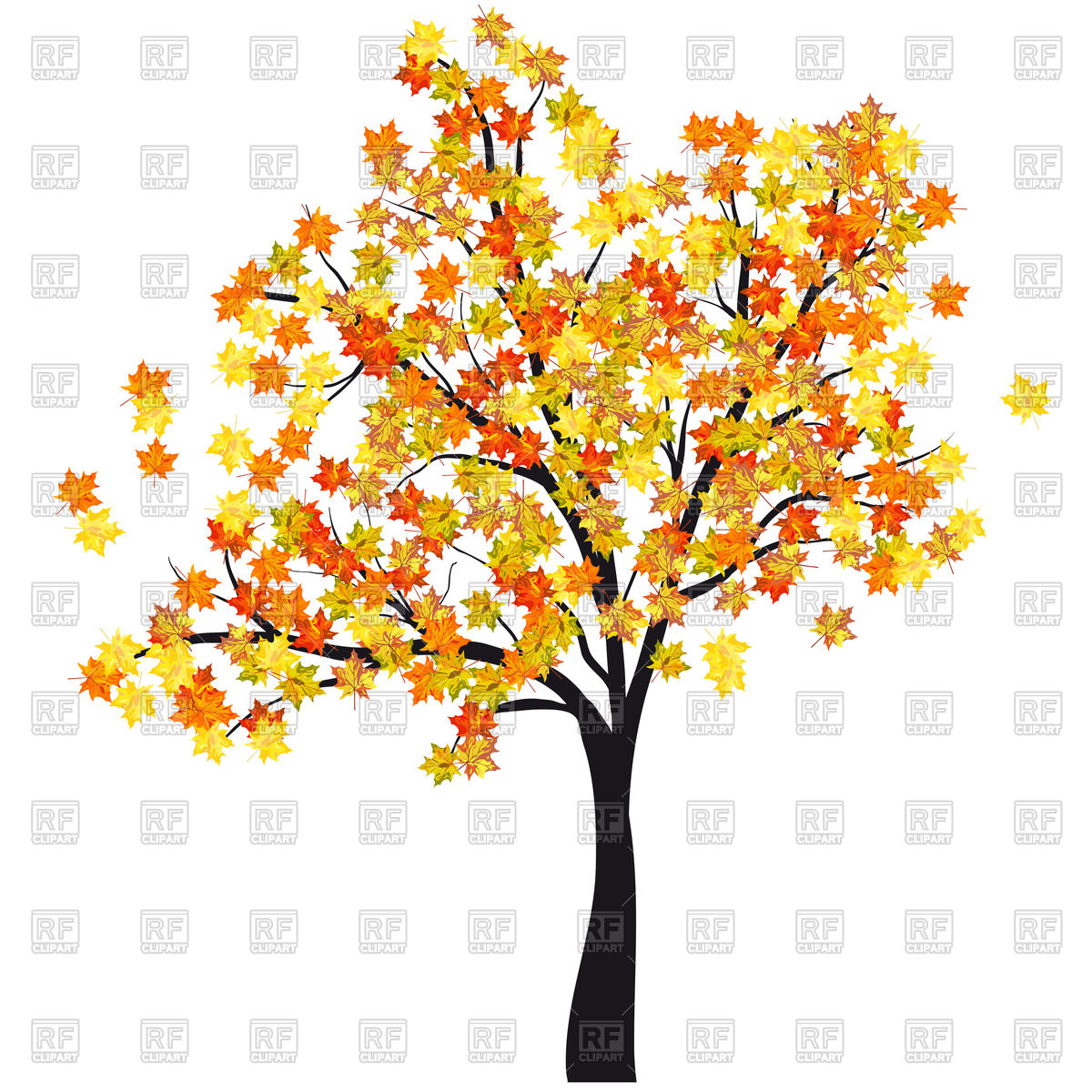 1200x1200 Clipart Vector Maple Tree Amp Clip Art Vector Maple Tree Images