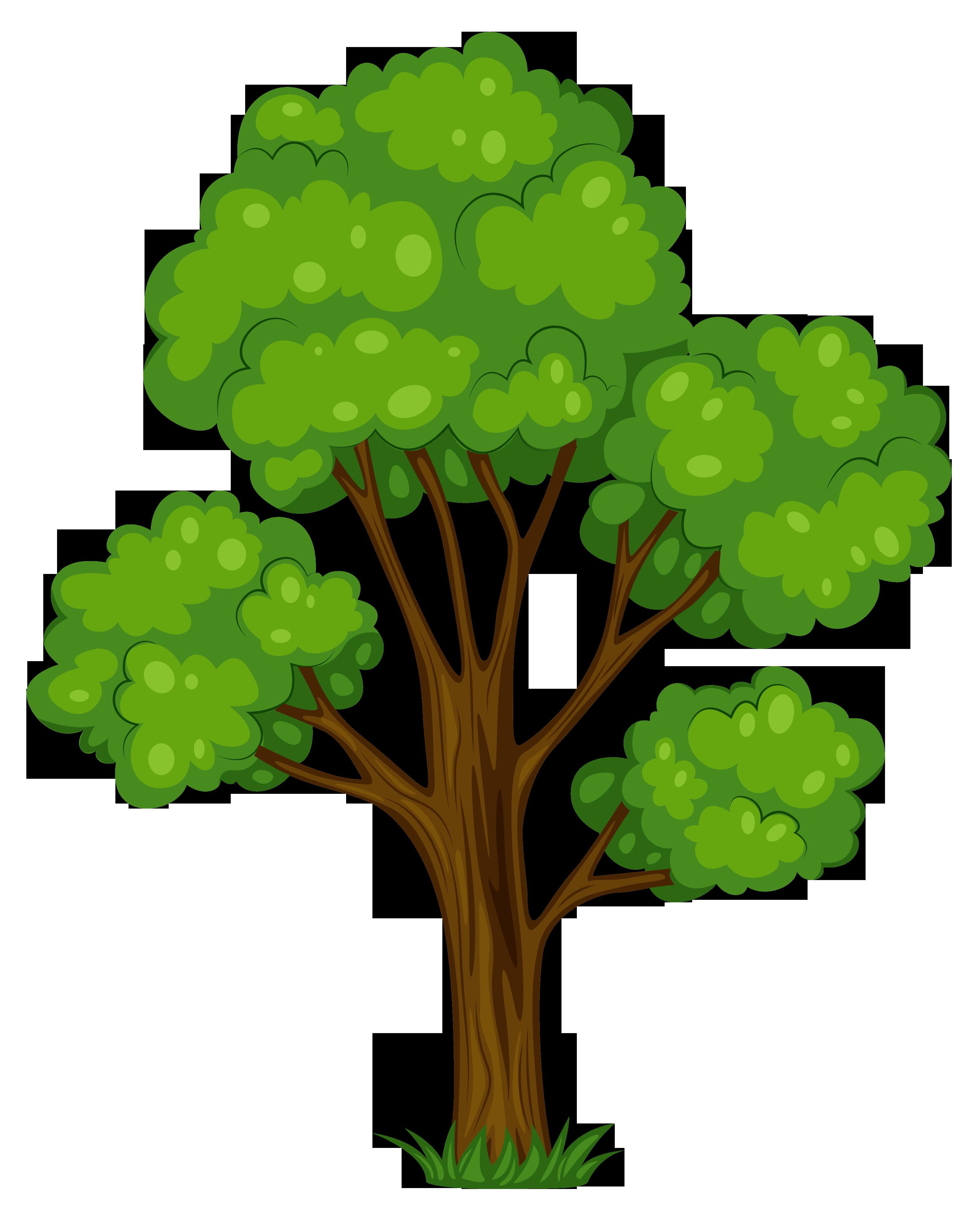 3126x3842 Tree Clip Art Free Clipartlook