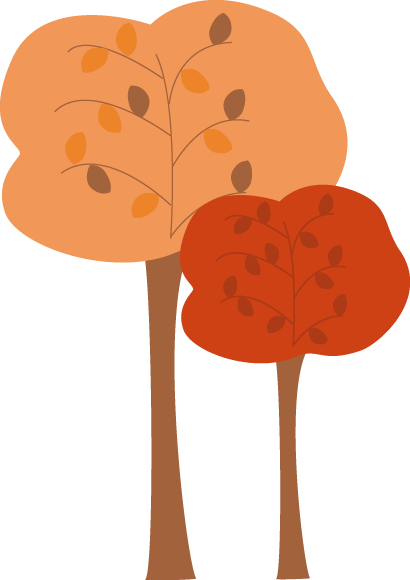 410x580 Trees In Autumn Clipart Collection