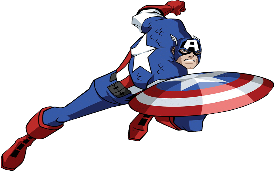 960x600 30 Printable Captain America Coloring Pages
