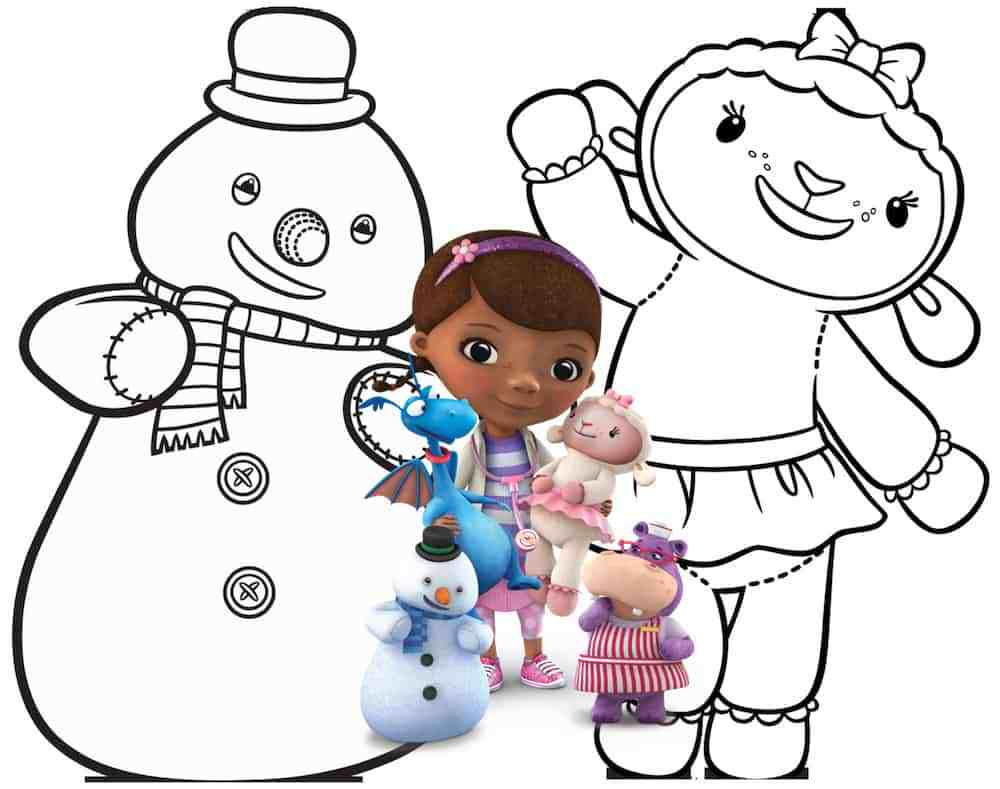 1000x789 Appealing Doc Mcstuffins Coloring Pages Activity Sheets Print Them