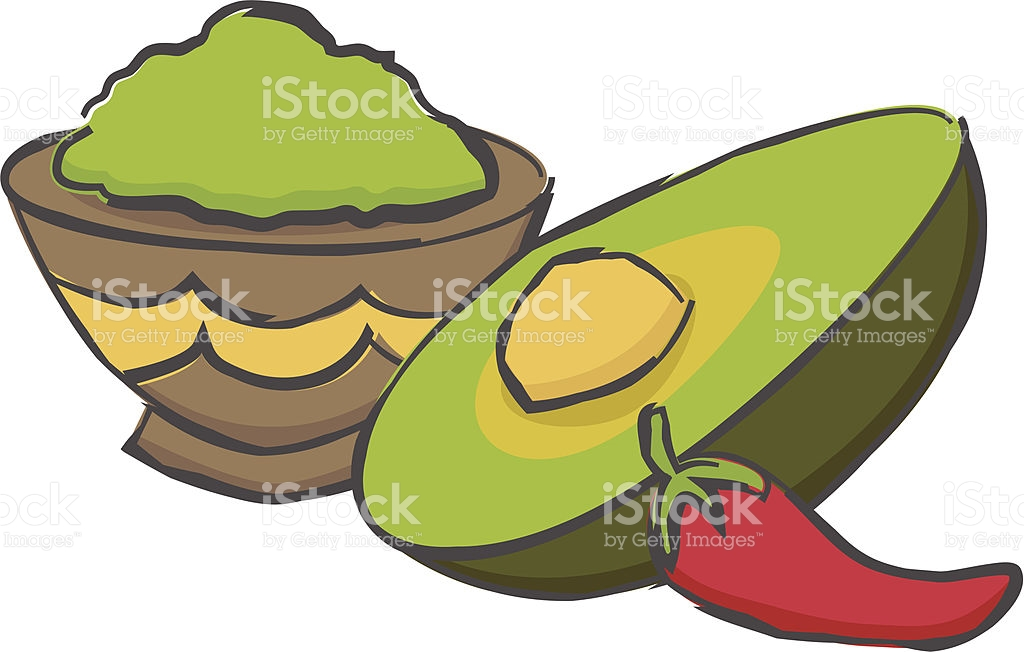 1024x652 Avocado Cream Clipart