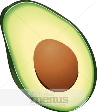 338x388 Lovely Clipart Avocado Avocado