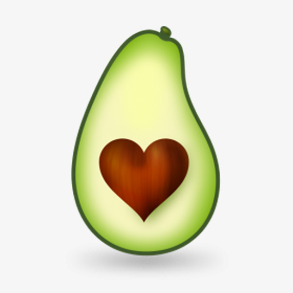 600x600 Avocado Cut In Half, Product Kind, Health, Fruit Png Image