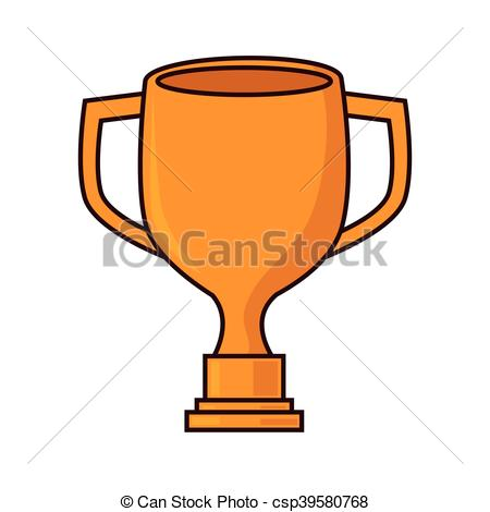 450x470 Winner Trophy Award. Winner Cup Trophy Sport Competition Clip