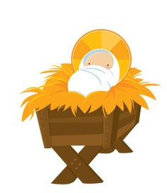235x272 Collection Of Baby Jesus In Manger Clipart High Quality