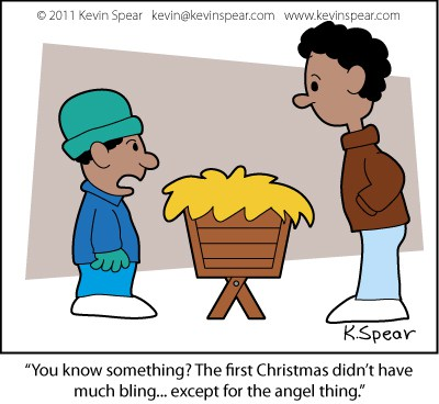 400x368 Away In A Manger, And What's All That Noise Kevin H. Spear