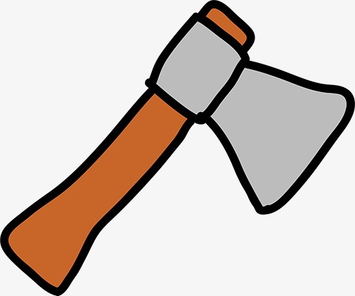 512x428 Cartoon Ax, Hand Painted, Cartoon, Tool Png Image And Clipart