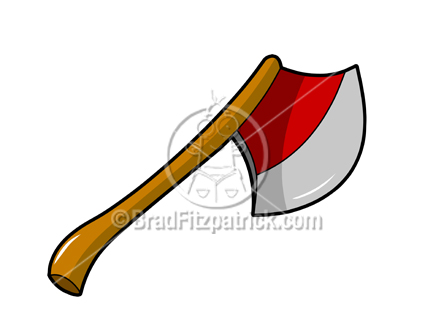 432x324 Cartoon Ax Clipart Picture Royalty Free Ax Amp Hatchet Clip Art