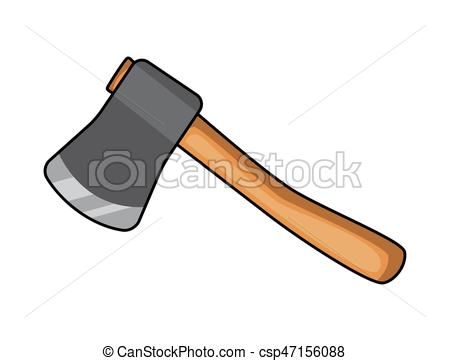 450x361 Cartoon Ax, Hatchet Vector Symbol Icon Design. Beautiful Vector