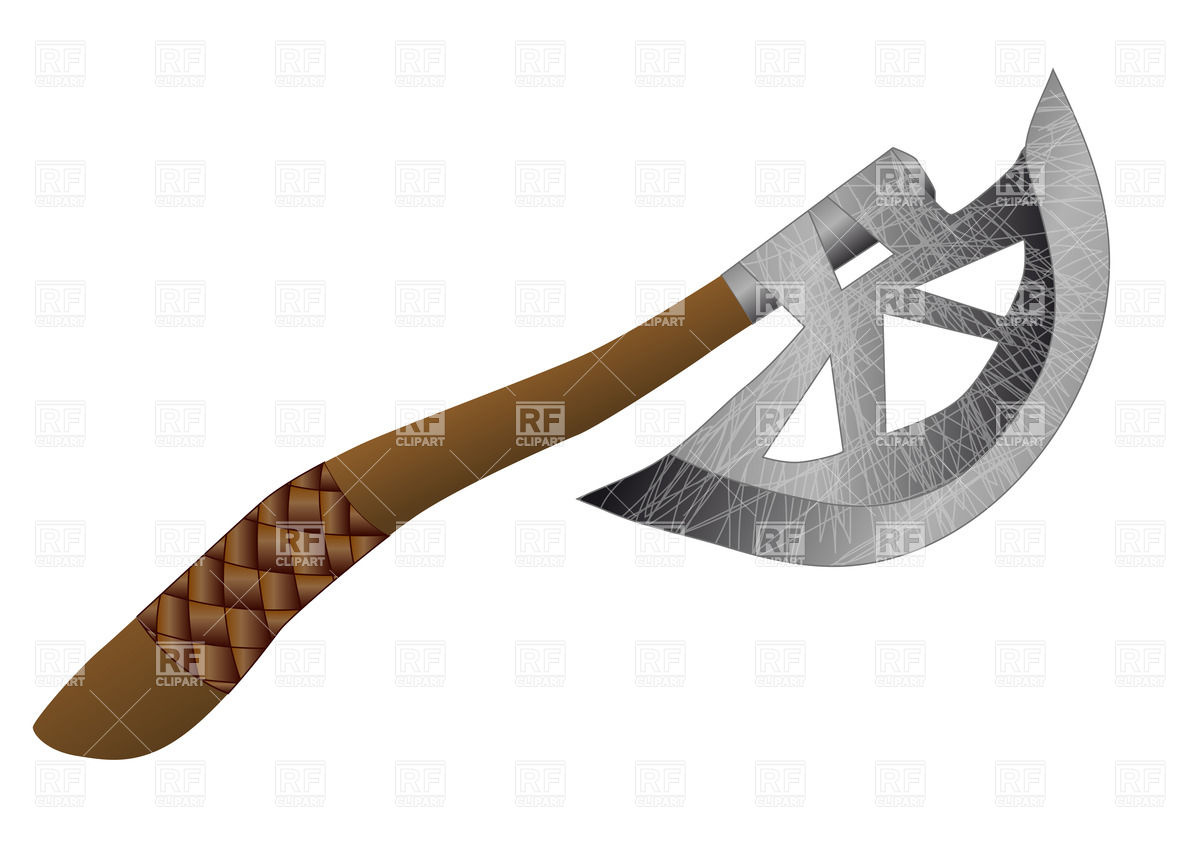 1200x849 Throwing Axe Royalty Free Vector Clip Art Image
