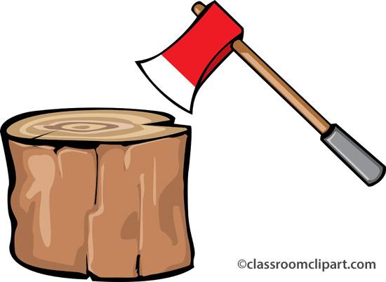 550x402 Axe Clipart Chopping Wood 3041687