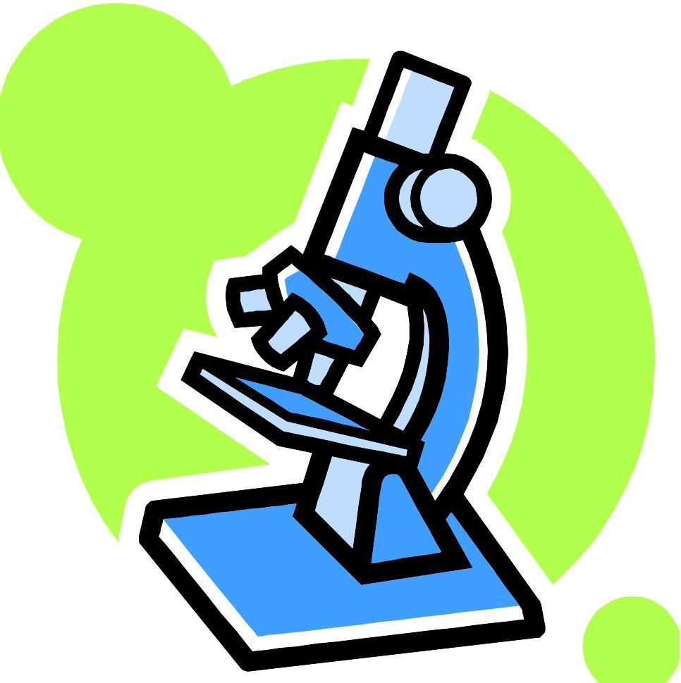966x970 Science Microscope Clipart