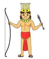 164x195 Aztec Clipart Spear